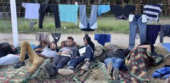 CNDH condena todo acto de violencia contra la integridad de las personas migrantes.
