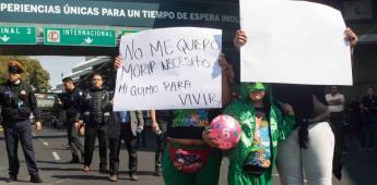 Padres de niños con cáncer bloquean calles en la CDMX