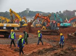 China construirá un hospital en 10 días