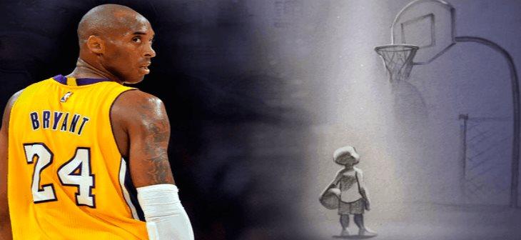 Kobe Bryant fue estrella de la duela y también del Oscar