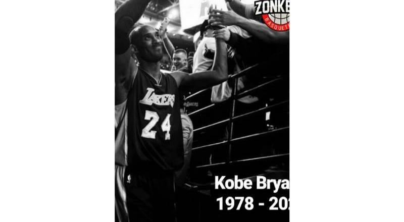 Lamenta Zonkeys fallecimiento de Kobe Bryant