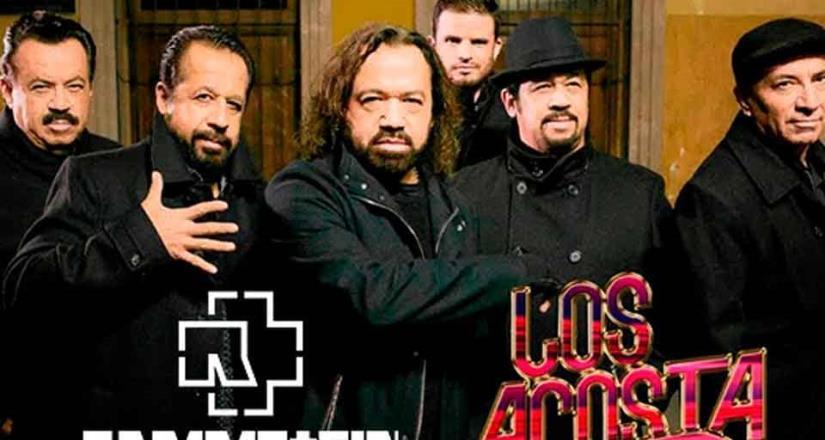 Los Acosta niegan concierto con Rammstein en la CDMX