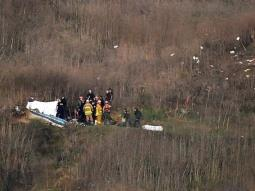 Helicóptero de Bryant voló con permiso especial a pesar del mal clima