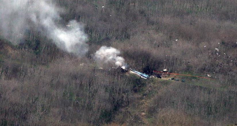 Revelan audio del piloto del helicóptero en que viajaba Kobe Bryant