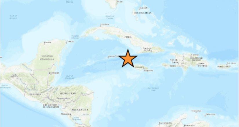 Se registra sismo de magnitud 7.7 entre Cuba y Jamaica: Se activa la alerta de tsunami