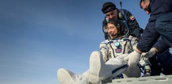 Christina H. Koch la primera mujer astronauta en cumplir un viaje largo en el espacio