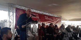 Jaime Bonilla se presenta en Tecate en las Jornadas por la Paz este sábado.
