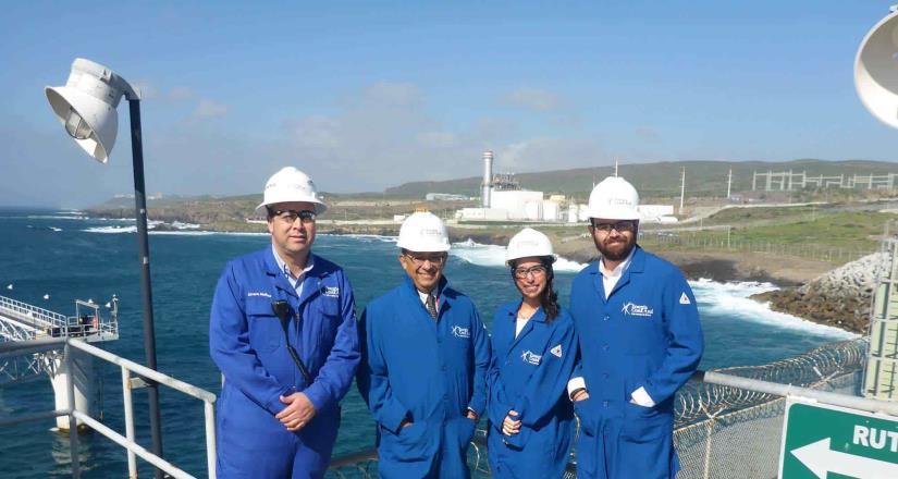 Cónsul General de México en San Diego, visita Centro Energético La Jovita