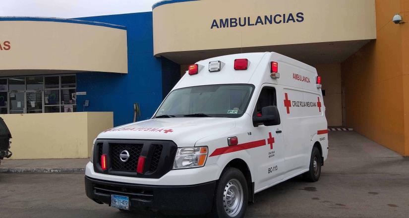 Cruz Roja Rosarito atiende cerca 8 accidentes de tránsito durante el fin de semana