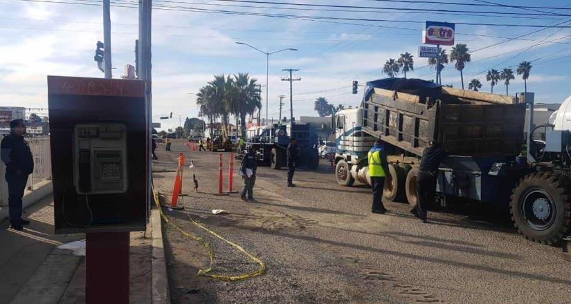 Rehabilitará 14 calles de Ensenada el Gobierno del Estado