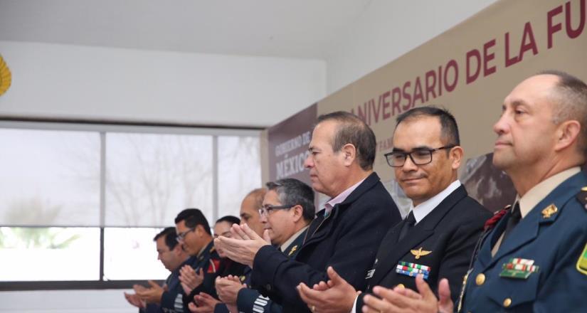 Felicita Presidente Municipal a la Fuerza Aérea Mexicana por su 105 aniversario