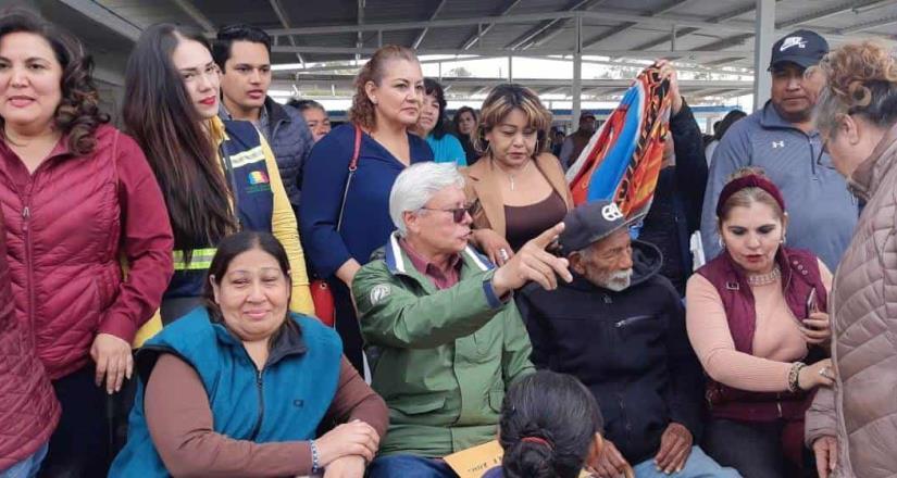 Jaime Bonilla Valdez en las Jornadas por la Paz: Tecate y Ensenada