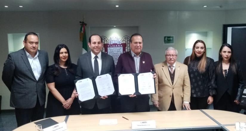 Realizarán CEDHBC y Ayuntamiento trabajo conjunto en derechos humanos
