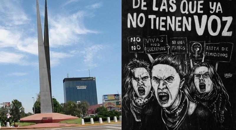 Organizan marcha en contra de la violencia hacia las mujeres  en Tijuana