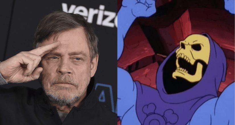 Mark Hamill será Skeletor en la nueva serie de He-Man