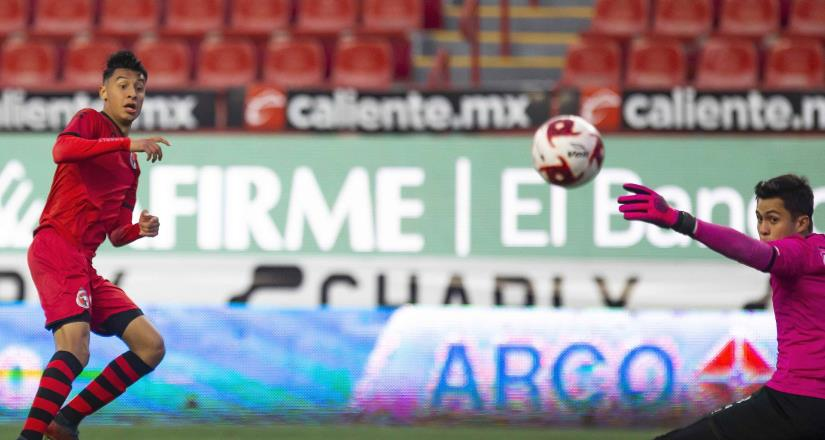 El Club Tijuana igualó 1-1 en la Sub17, en tanto 0-0 en la Sub20