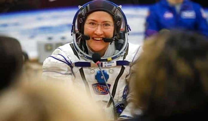 Christina, la astronauta que se abre camino a la Luna