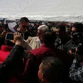 La jornada de la Paz en el  Maclovio Rojas, acude Jaime Bonilla
