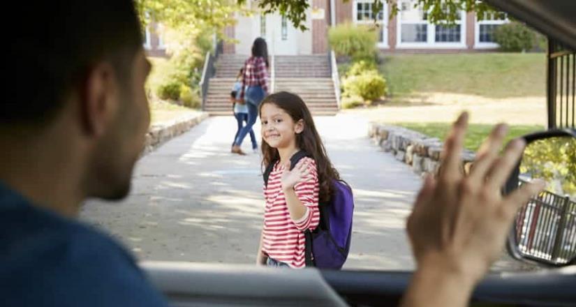 ¿Cuál es el protocolo de las escuelas para entregar a un niño en CDMX?