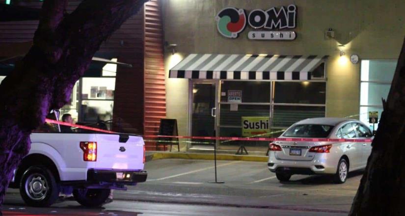 Asesinan a hombre dentro de local de comida japonesa en Zona Río