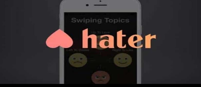 Hater, la app que te busca una pareja que odie lo mismo que tú