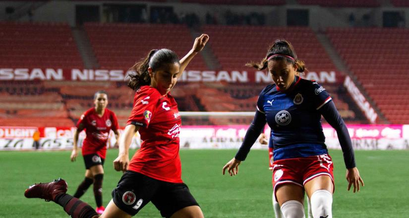 Xolas cae 4 - 1 ante Chivas en la Liga MX Femenil