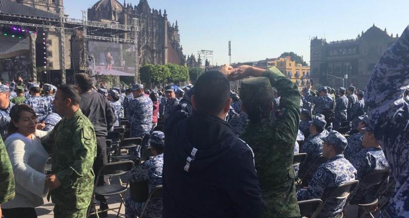 Inicia celebración del Día del Ejército con la Sonora Dinamita