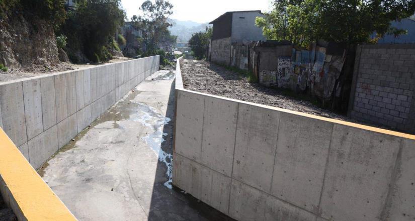 Ayuntamiento concluye trabajos de construcción del cajón pluvial de la colonia Francisco Villa