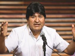 Tribunal impide a Evo Morales participar en las elecciones de el Senado por no contar con residencia