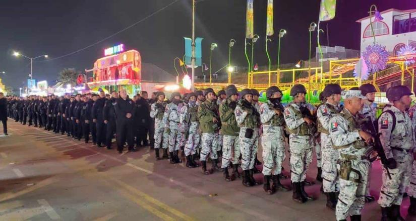 Más de 400 policías resguardan seguridad en el Carnaval