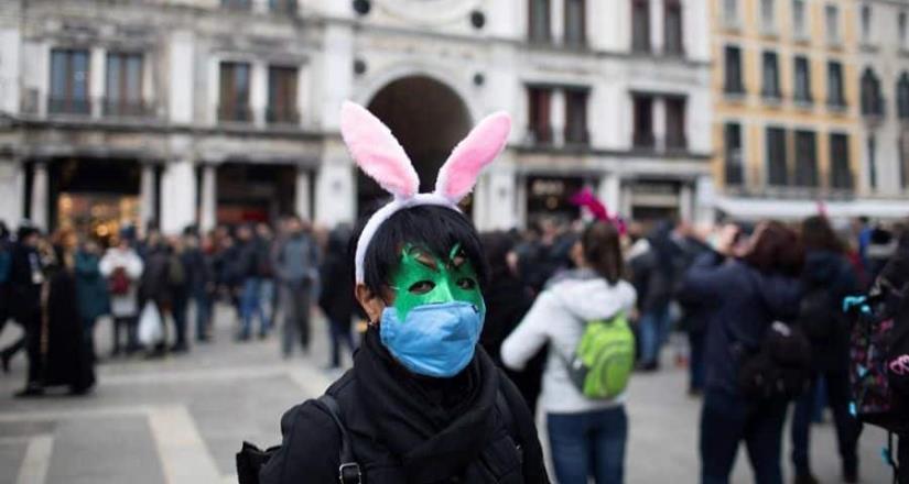 Suspendido el carnaval de Venecia por el coronavirus