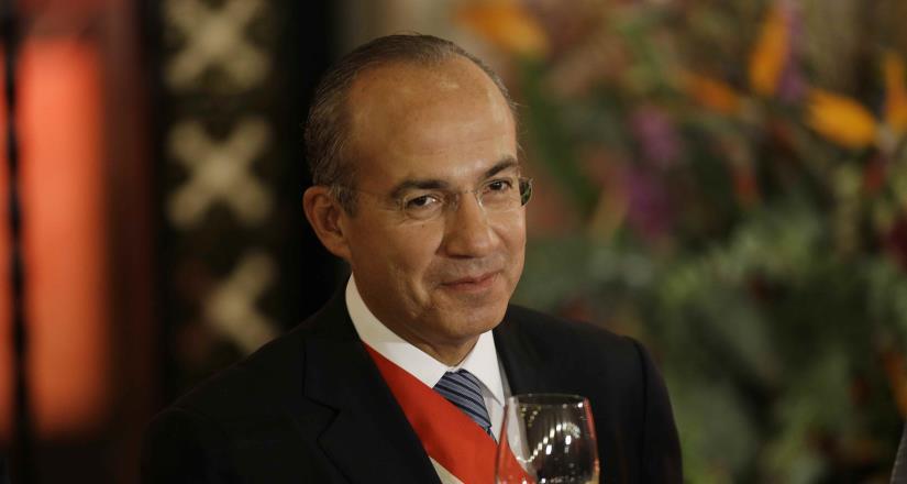 México libre pondrá un hasta aquí a Morena: Felipe Calderón