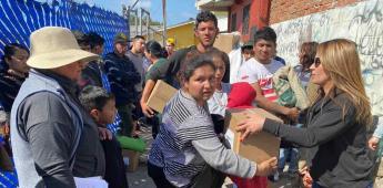Atiende Ayuntamiento de Tijuana a familias afectadas por incendio