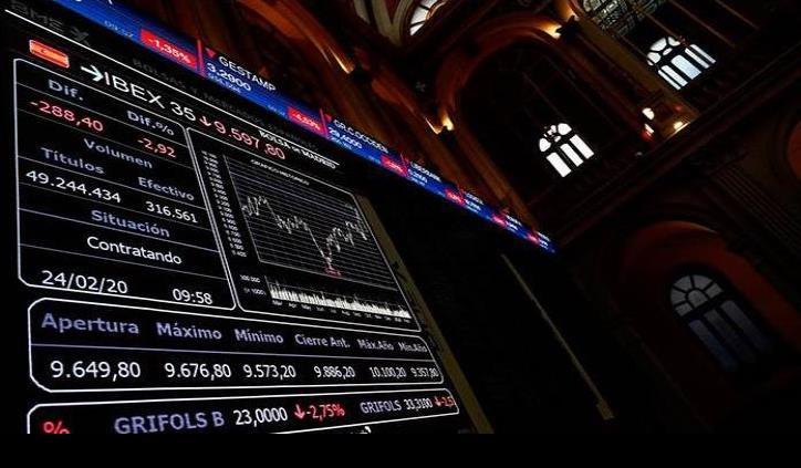 Se desploman bolsas de valores y se dispara dólar por coronavirus