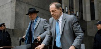 El jurado halla a Harvey Weinstein culpable de dos delitos sexuales; absuelve los graves