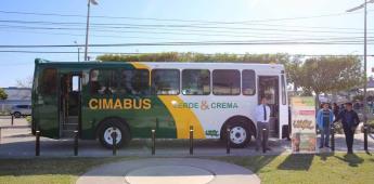 """Arranca ruta de transporte """"Cimabus"""""""