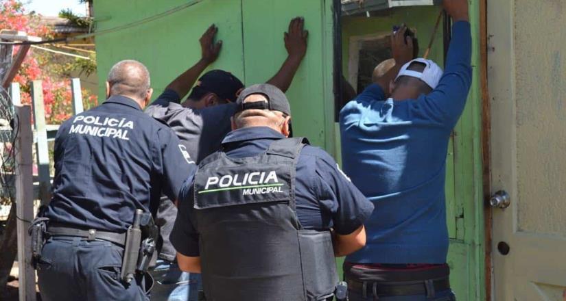 Detuvo la Policía Municipal a 110 personas