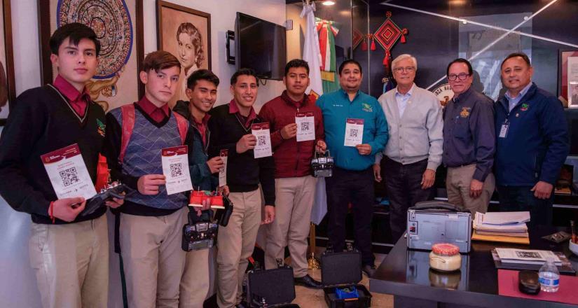 Patrocina Gobierno de BC viaje a estudiantes que participarán en certamen mundial de Robótica