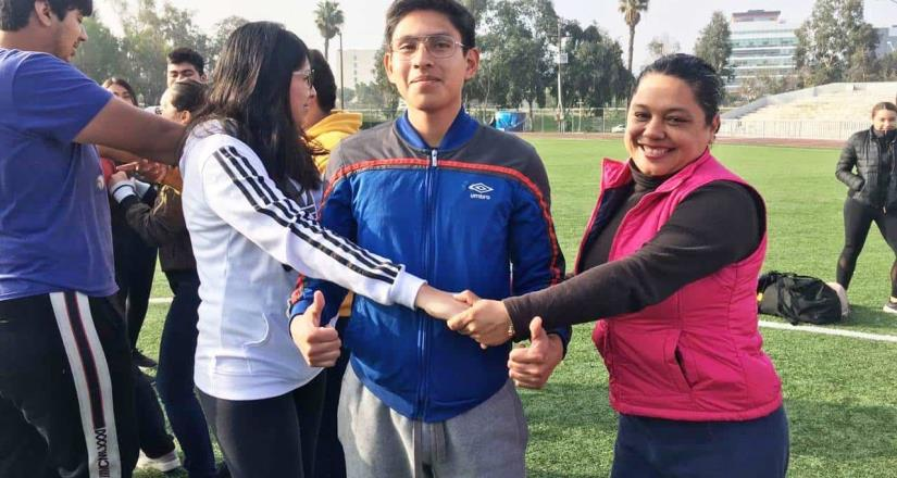 Participan alumnos de Unipac  en Jornada Deportiva 2020
