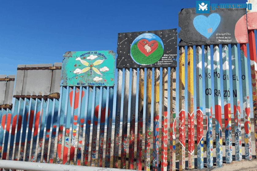 Continúa en Mural de la Hermandad en Playas de Tijuana