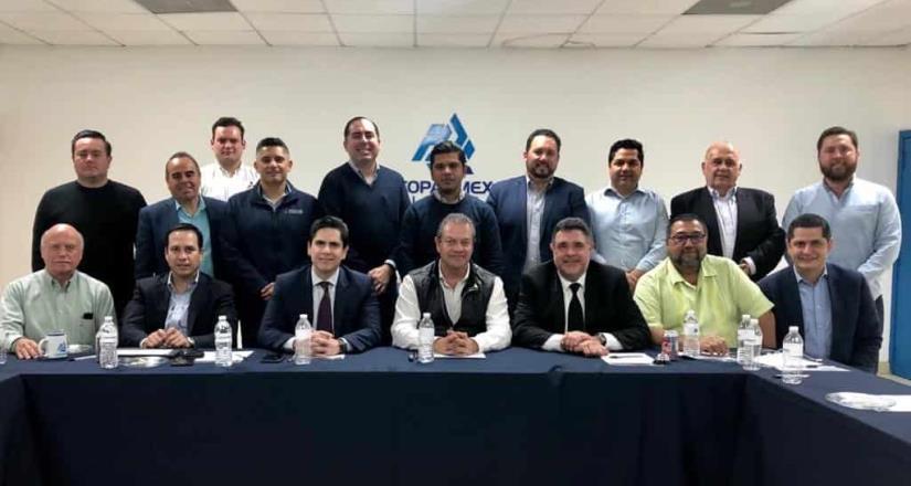 Reunión entre director de CESPT y COPARMEX Tijuana