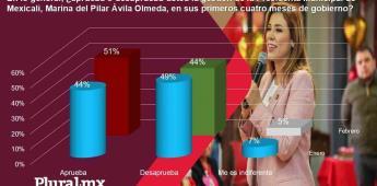 Marina la Munícipe con más aprobación de BC