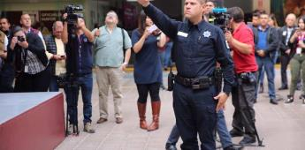 Arturo González toma protesta al nuevo titular de la Dirección de Policía y Tránsito Municipal