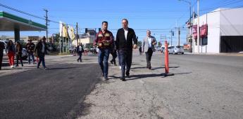 Inicia Ayuntamiento bacheo simultáneo en las nueve delegaciones