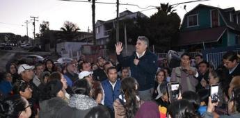Mantiene gobierno del Estado los apoyos económicos a las familias afectadas de colonias en Tijuana