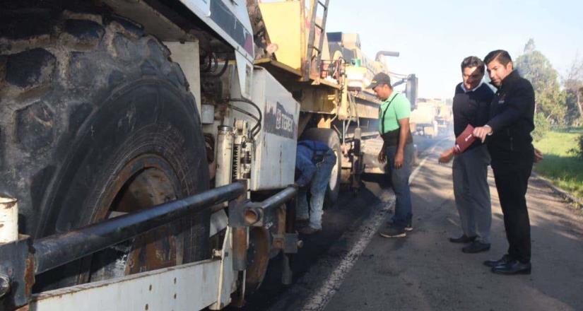 Lleva el Ayuntamiento más de 81 mil M2 de calles rehabilitadas