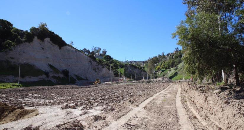 Recorre Presidente Municipal obra de rehabilitación en el Parque Cañón Sánchez Taboada
