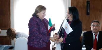 Se reúne Araceli Brown con funcionarios consulares de EU y del gobierno federal de México