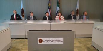 FGE y consulado de Tijuana acuerdan intercambio de información contra delincuencia transfronteriza