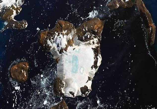 El 20 por ciento de la cubierta de nieve en una isla de la Antártida se derritió en sólo 9 días